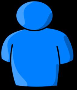 255x299 Blue Person Clip Art Clipart Panda