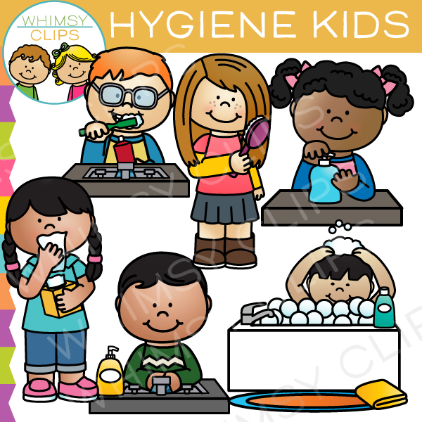 Personal Hygiene Clipart
