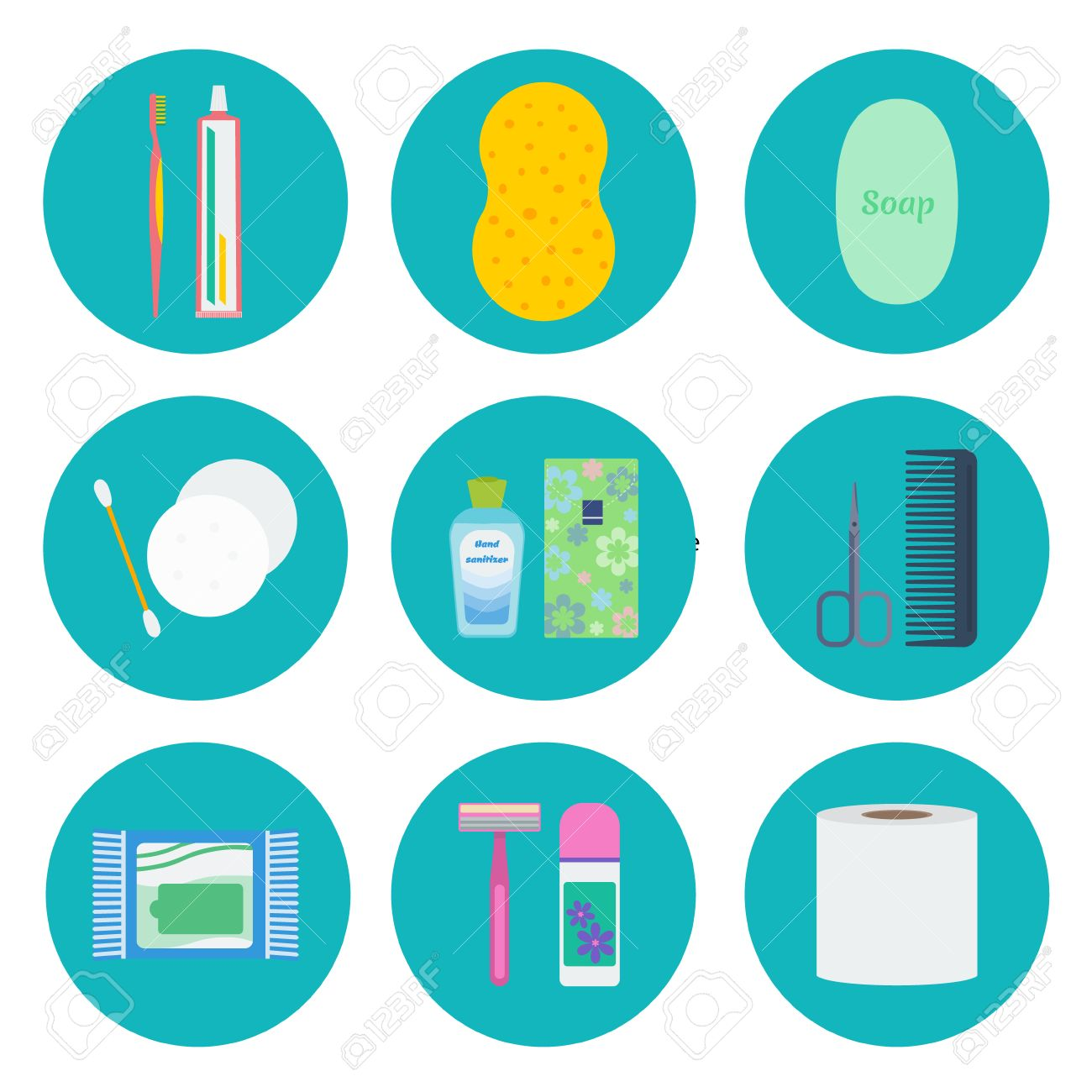 1300x1300 Toothbrush Clipart Personal Hygiene