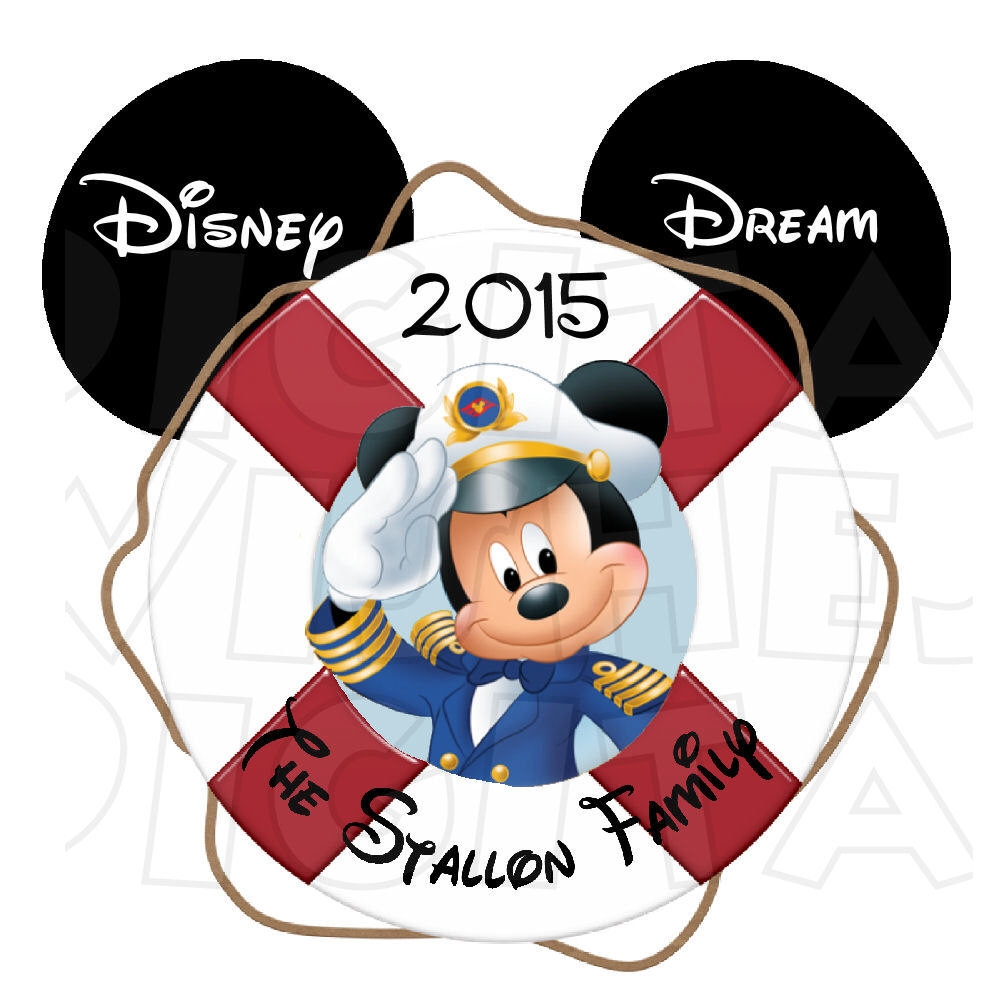 1000x1000 Clip Art Captain Mickey Mouse Porthole Personalized Disney Cruise
