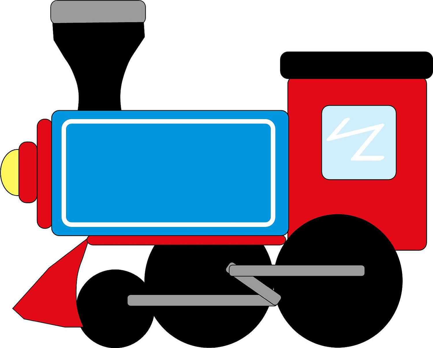 1500x1207 Train Clip Art