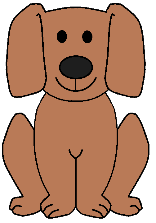 503x717 Clipart Dog Pictures