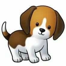 220x220 Cute Cartoon Dogs Clip Art Cartoon Dog Animai Images
