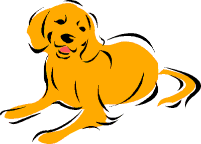 400x288 Free Dog Clipart, 12 Pages Of Public Domain Clip Art