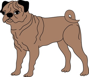 300x262 Free Pug Clipart Image 0515 1004 2703 3344 Dog Clipart