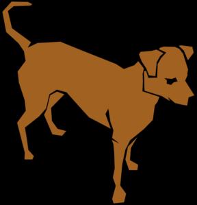 288x299 Brown Clip Art Dog Clip Art