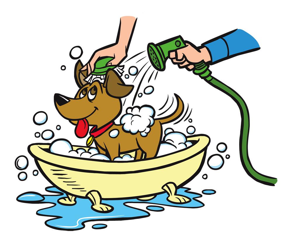 1000x834 Clip Art Dog Bath Clip Art