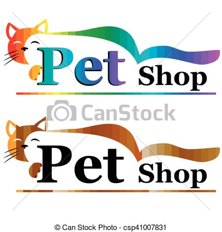 450x470 High Quality Original Trendy Vector Illustration Of Pet Shop