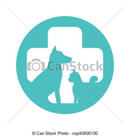 450x470 Pet Shop Center Icon Vector Illustration Design Vectors