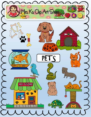 371x480 Pets Clip Art Mrs Ks Clip Art And More