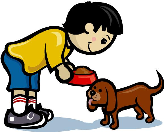 578x466 Pet Clipart Child Feeding
