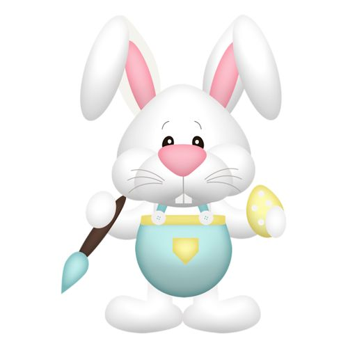 500x500 126 Best Easter Clipart Images On Easter Bunny