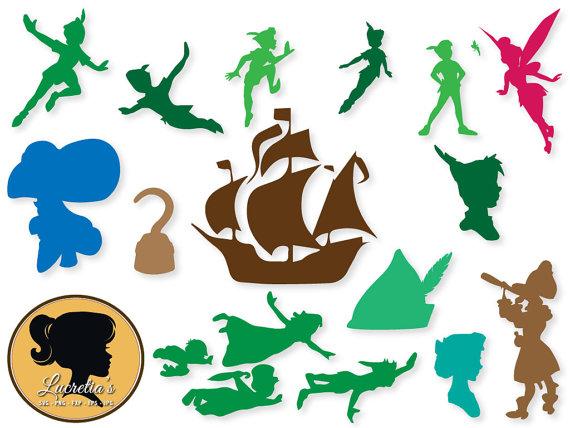 570x428 Peter Pan Svg, Peter Pan Clipart, Peter Pan Digital Download, Dxf