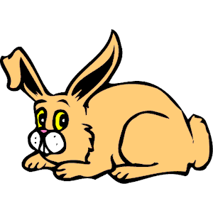 300x300 Clipart Free Rabbit