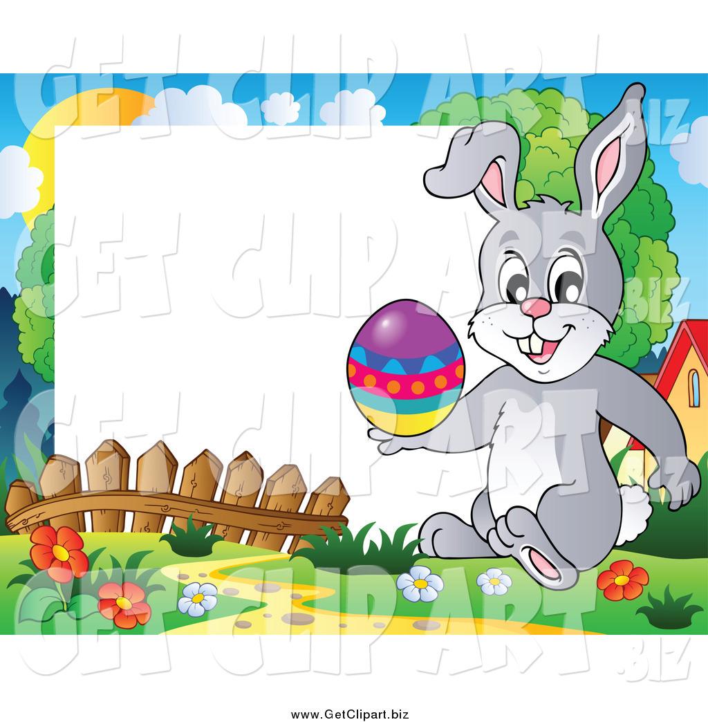 1024x1044 Rabbit Border Clipart
