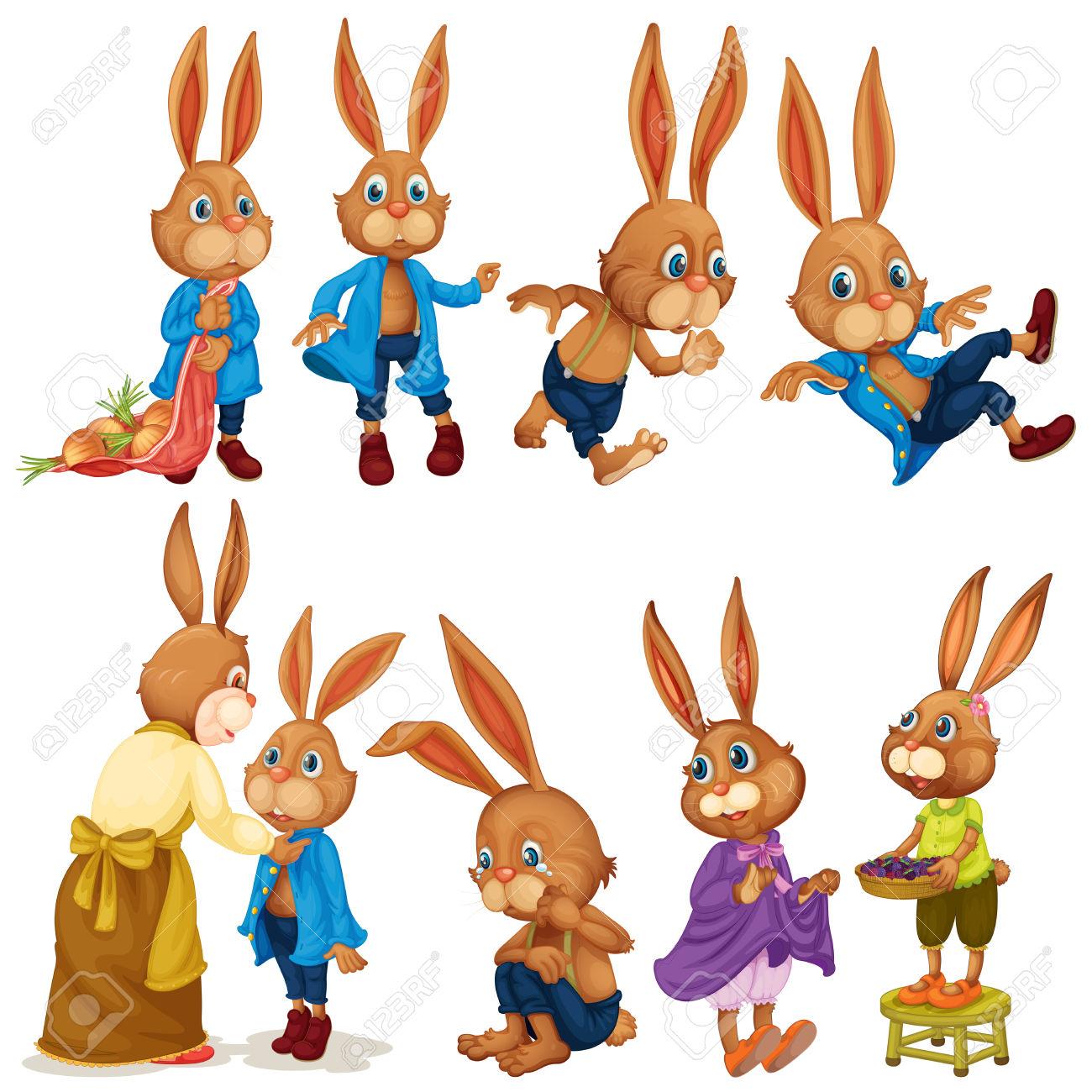 1300x1300 Rabbit Family Clipart, Explore Pictures