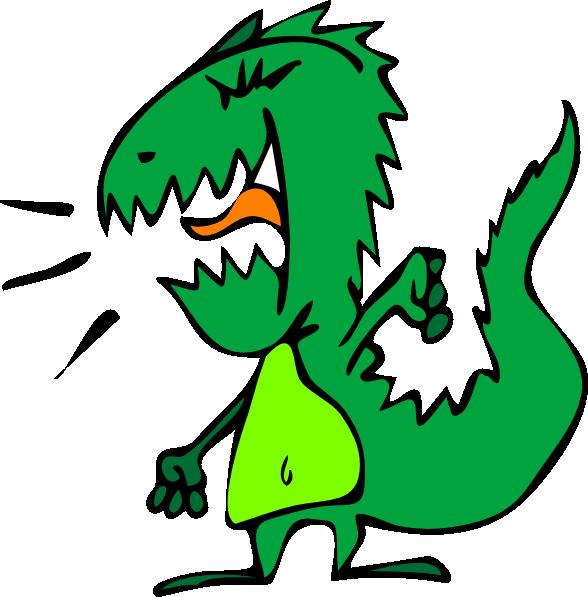 588x597 Free Vector Dinosaur Clip Art 119327 Dinosaur Clip Art Hight