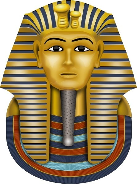 444x593 Masks Clipart Pharaoh Many Interesting Cliparts