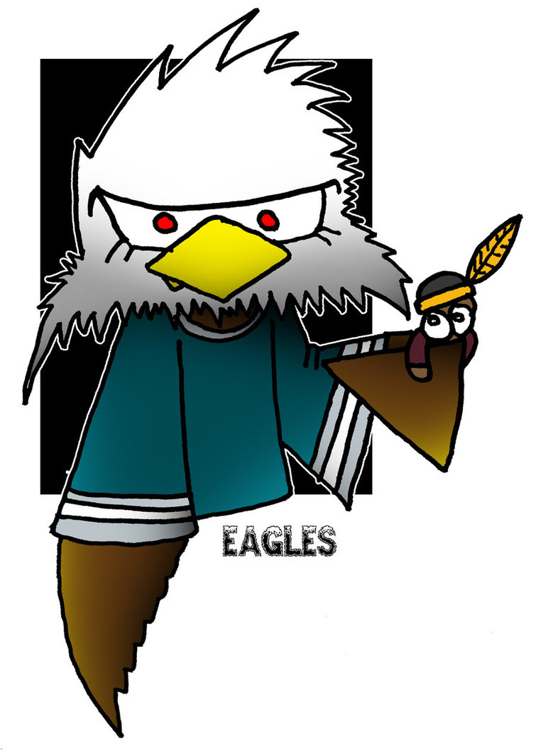 755x1059 Lil' Philadelphia Eagles By 5chmee