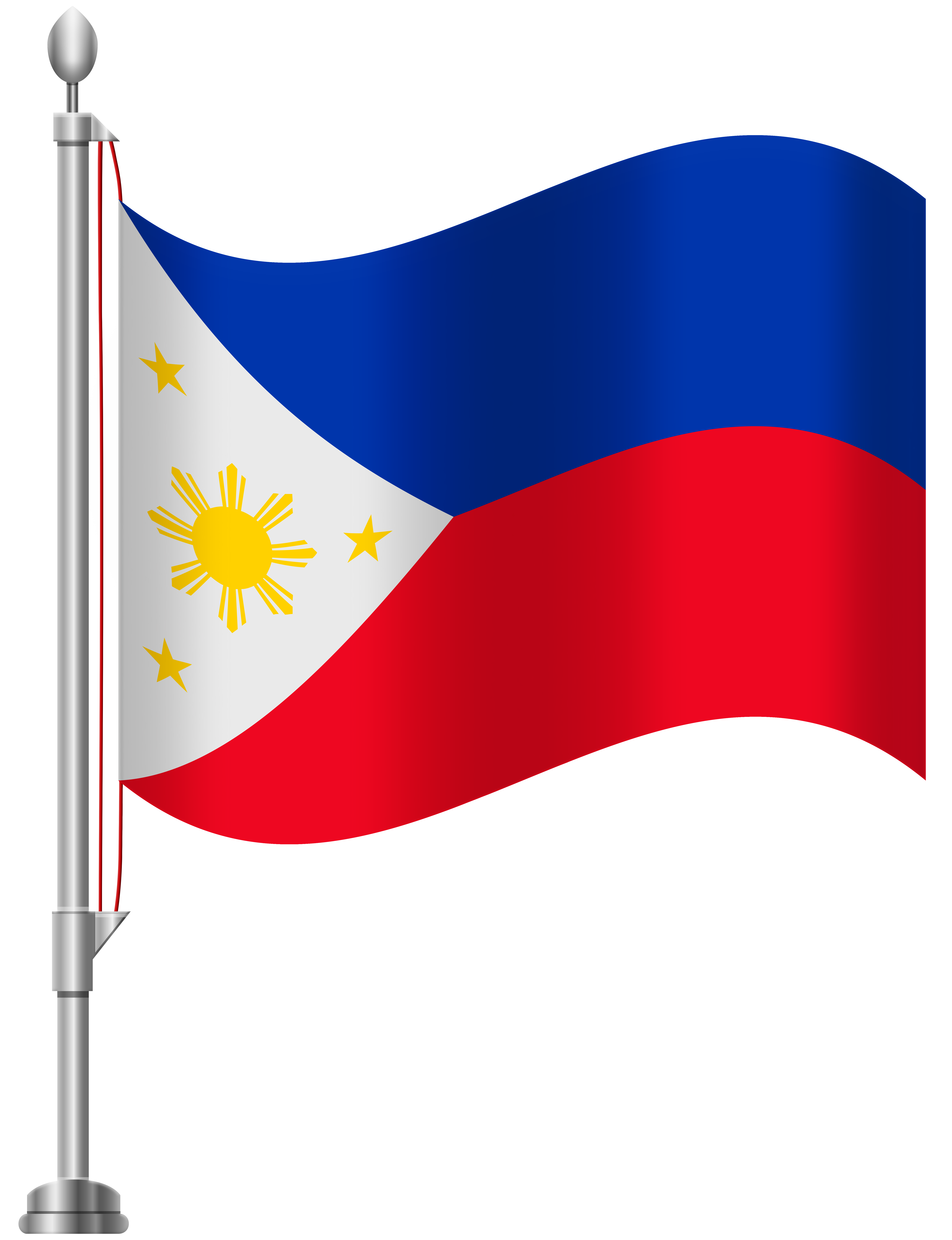 6141x8000 Philippines Flag Png Clip Art