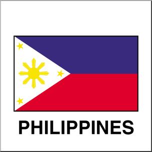 304x304 Clip Art Flags Philippines Color I Abcteach