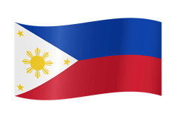250x167 The Philippines Flag Clipart