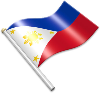 400x374 Clipart Philippine Flag With Pole