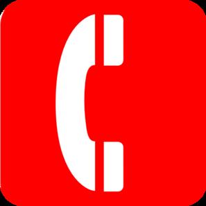 297x297 Red Phone Clip Art