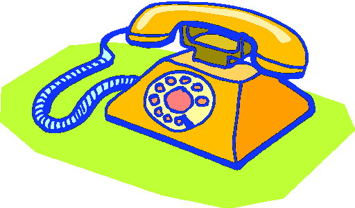 512x300 Telephone Clip Art Communication
