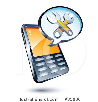 400x420 Cell Phone Clipart