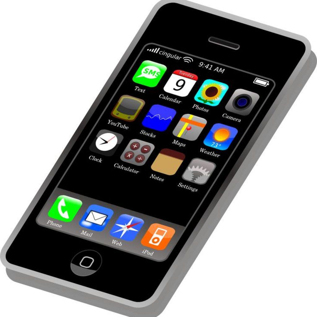 1024x1024 Free Clipart Phone