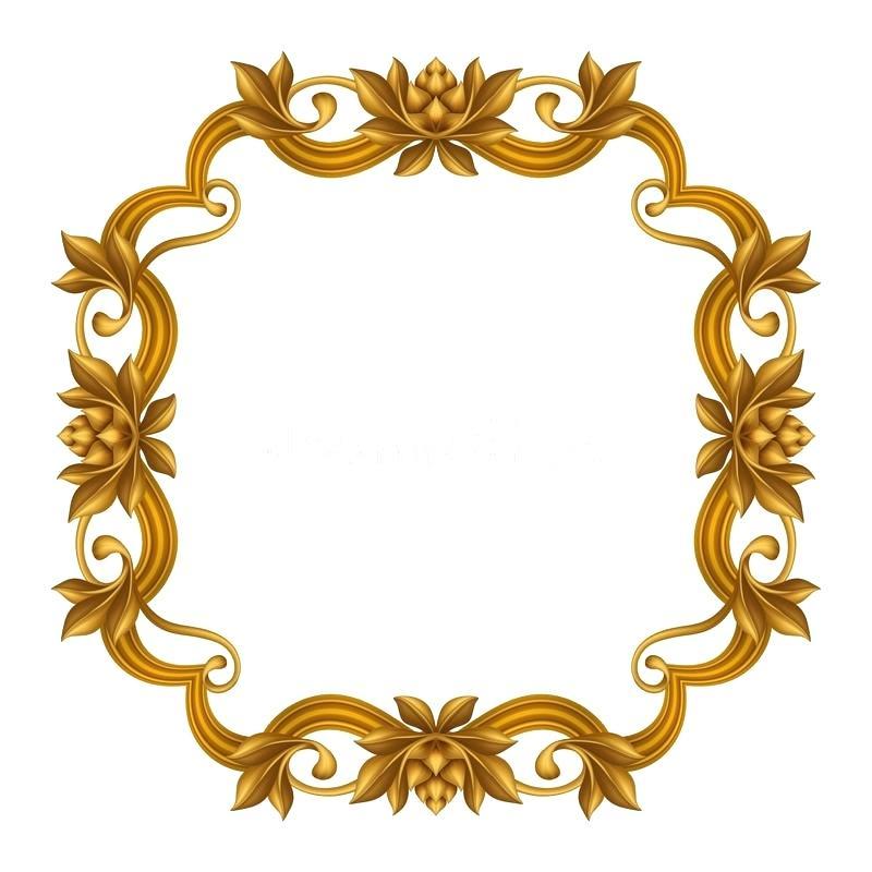 800x800 Gold Frame Clip Art Download Decorative Gold Vintage Frame