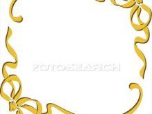 220x165 Gold Frame Clipart Gold Border Frame Transparent Clip Art Image