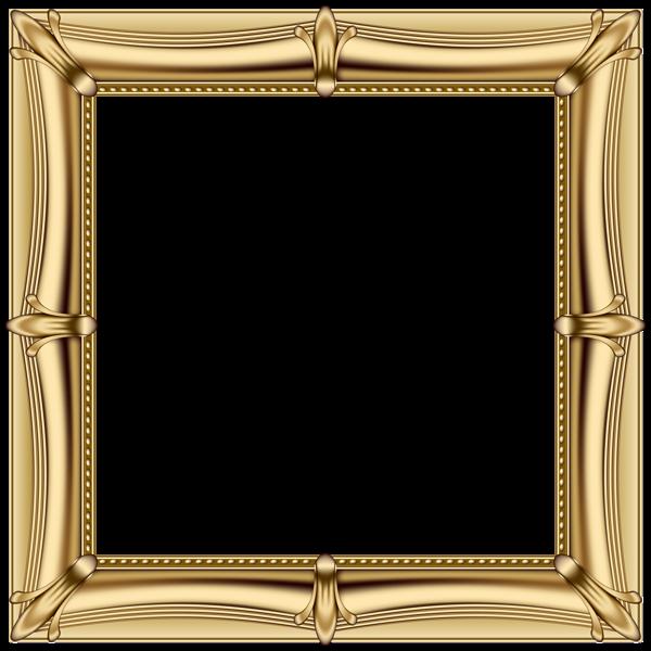 600x600 Gold Frame Png Transparent Clip Art Imageu200b Gallery Yopriceville