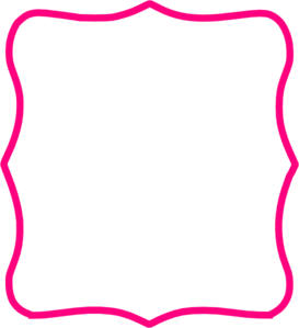 273x299 Hot Pink Frame Clip Art