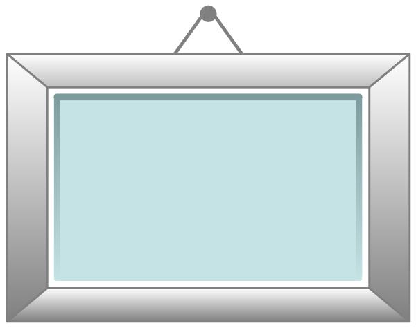 600x474 Picture Frame 2 Clip Art Clipart Panda