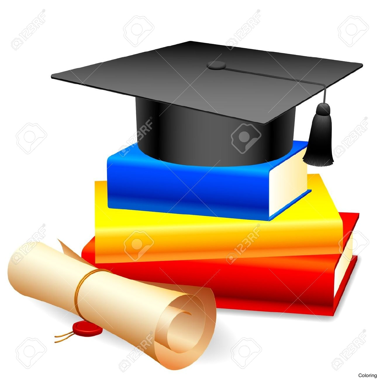 1300x1300 Sweet Diploma Clipart Clip Art Coloring Free Borders Images Frame