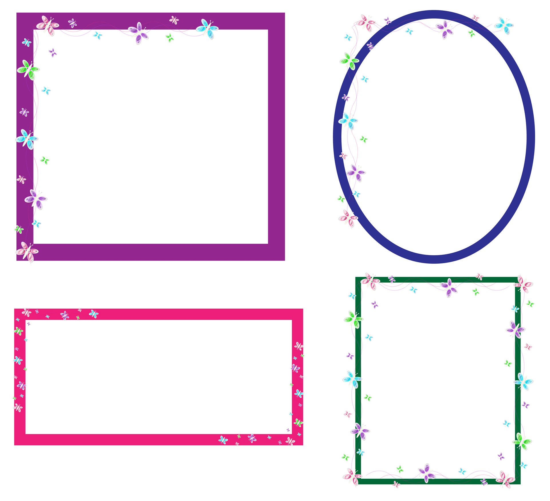 1920x1748 Butterfly Frames Clip Art Free Stock Photo