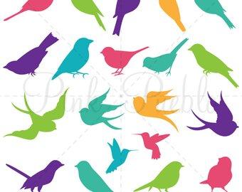 340x270 Bird Silhouettes Clip Art Clipart Bird Clip Art Clipart