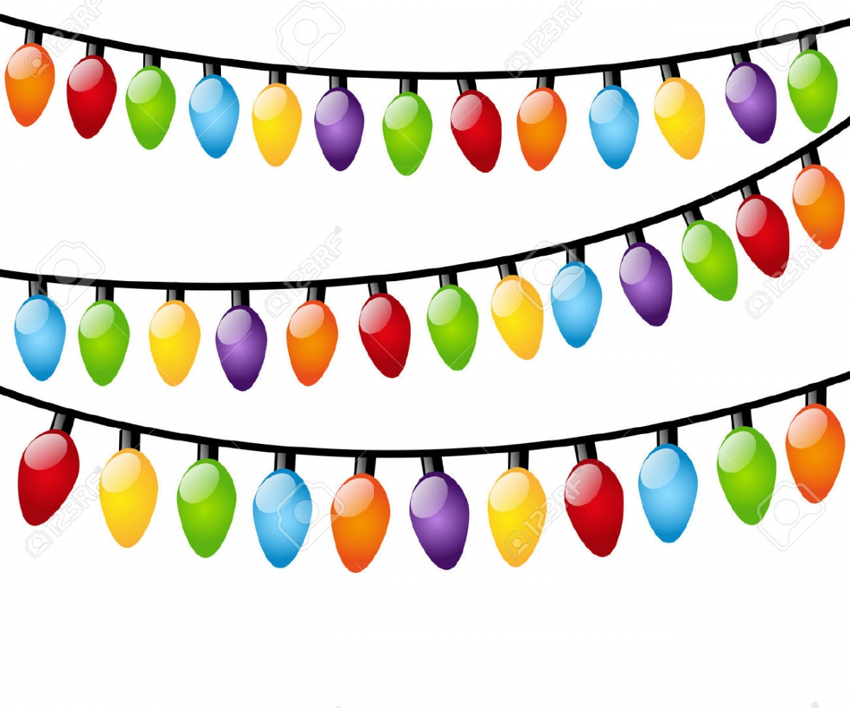 1200x1000 Christmas Lights Clipart Hanging Light String Of Free Broadway Png