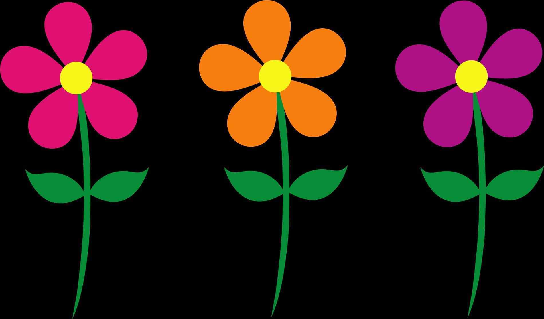 1900x1114 Art S Spring Flowers Background Clipart Free Download Clip Art