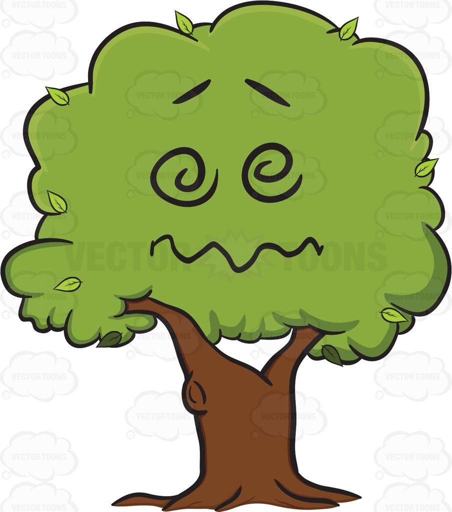 904x1024 Dazed Confused Healthy Leafy Tree Emoji Tree Emoji