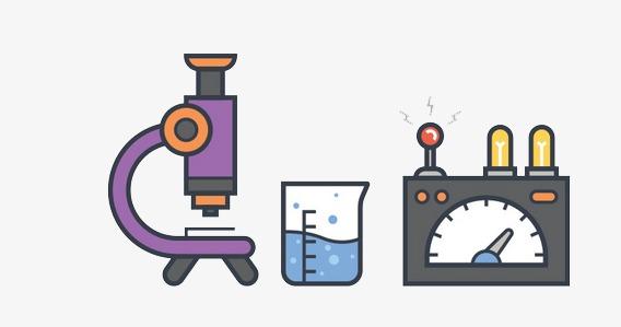 568x299 Laboratory, Cartoon, Flat Flat Graphics, Physics Experiment Png