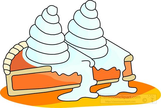 550x371 Pie Clipart Whip Cream Pie