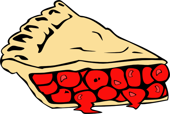 594x397 Slice Of Pie Pictures Png Cherry Pie Clip Art Kids
