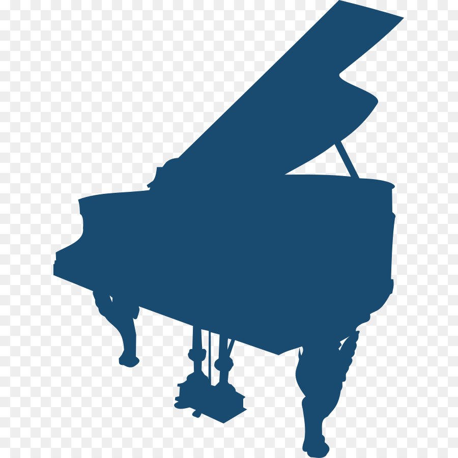 900x900 Piano Silhouette Musical Keyboard Clip Art