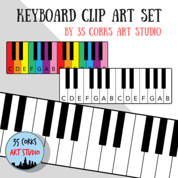 350x350 Keyboard Clip Art Teaching Resources Teachers Pay Teachers