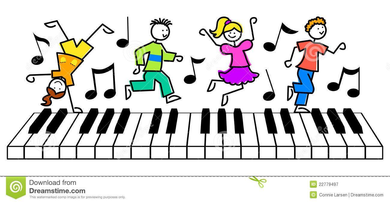 1300x676 Het Toetsenbord Van De Muziek Van De Jonge Geitjes Van Het
