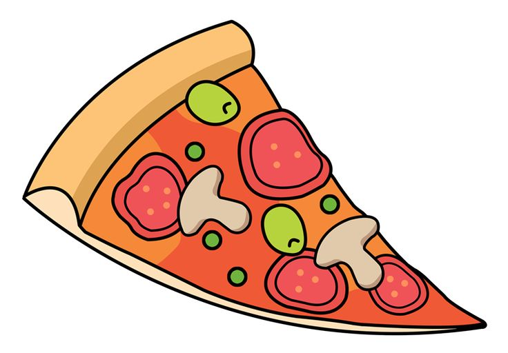 736x512 32 Best Pizza Images On Pizzas, Clip Art And Illustrations