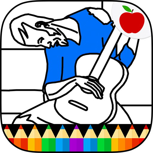 512x512 Stunning Picasso Coloring Book Gallery